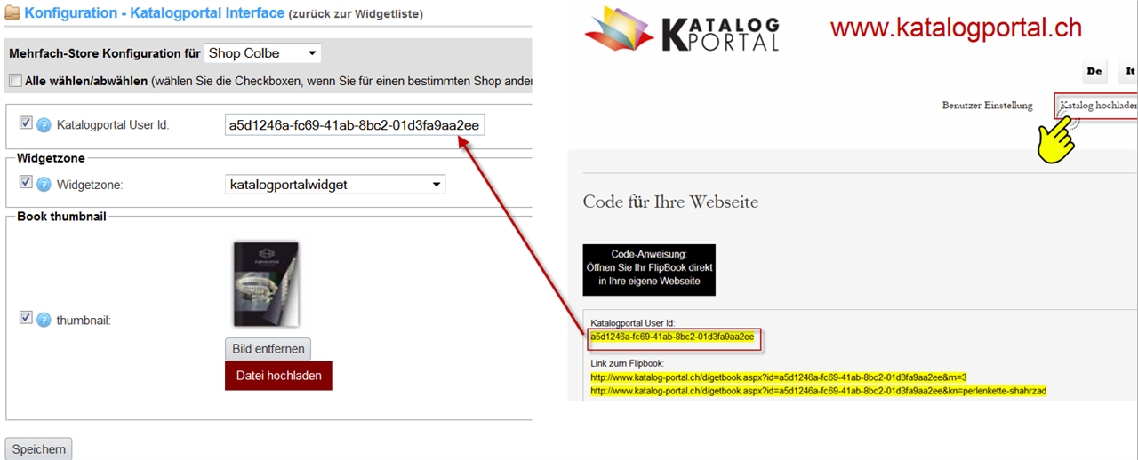 Bild von Katalogportal Interface for nopCommerce v3.2 v3.4 v3.5 v3.6