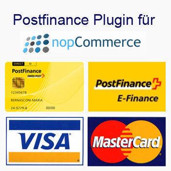 Bild von Postfinance Plugin for nopCommerce V3.9