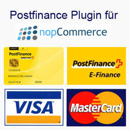 Bild von Postfinance Plugin for nopCommerce V4.2