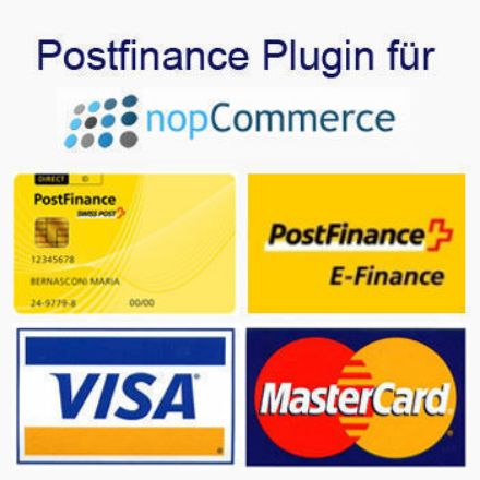 Bild von Postfinance Plugin for nopCommerce V4.3